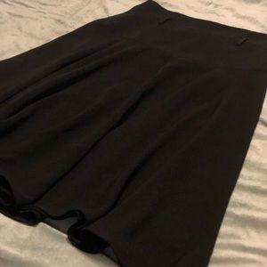 Calvin Klein women's black A-line skirt, size 4